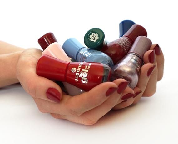 Nagellak Ordenen & Low-Budget Nail art