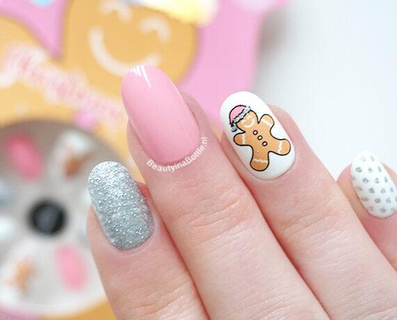 PS… Gingerbread Man Kunstnagels