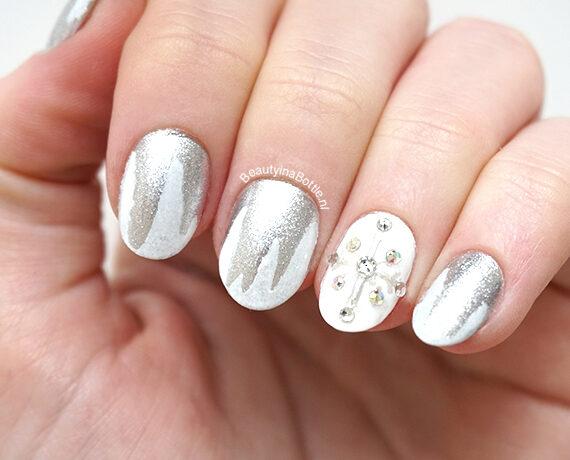 Sneeuw Nail Art