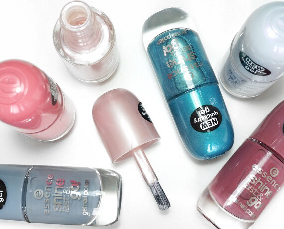 6x essence Shine Last & Go Gel Nail Polish