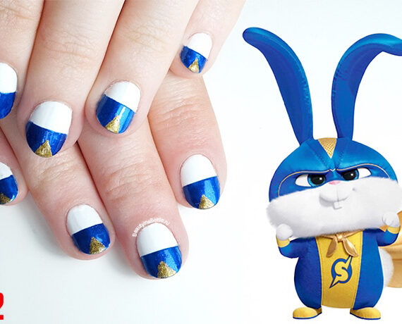 The Secret Life Of Pets 2 Nail Art