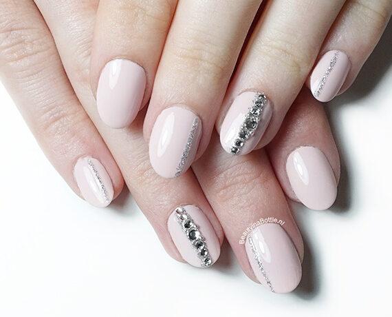 Jewel Stripe Nail Art