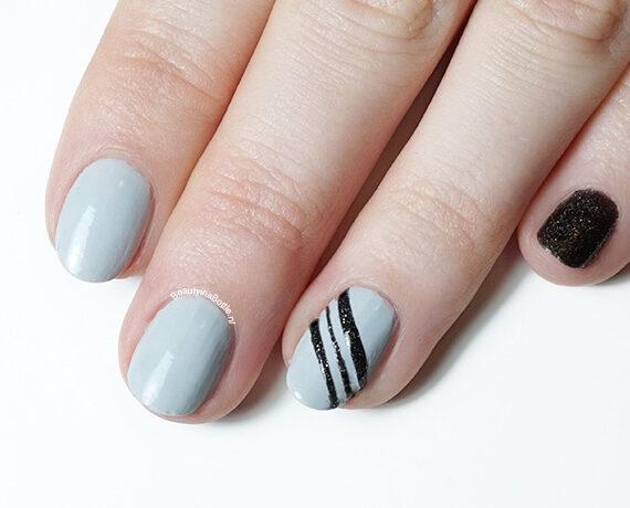 One Finger Nail Art