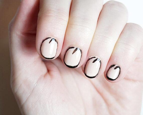 Acryl Lijn Nail Art