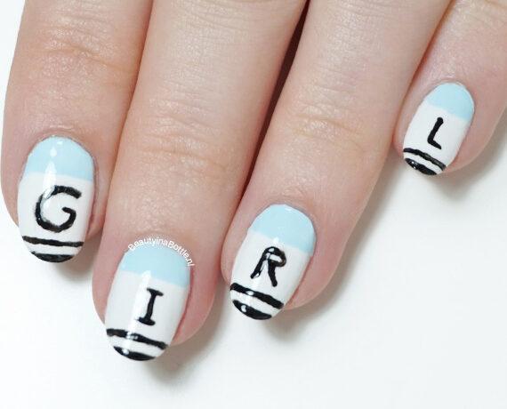 Girl Nail Art